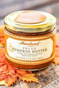 jar of pecan pumpkin butter