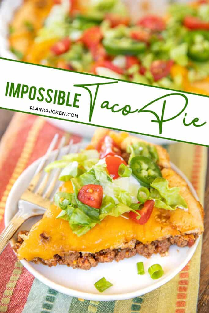 impossible taco pie