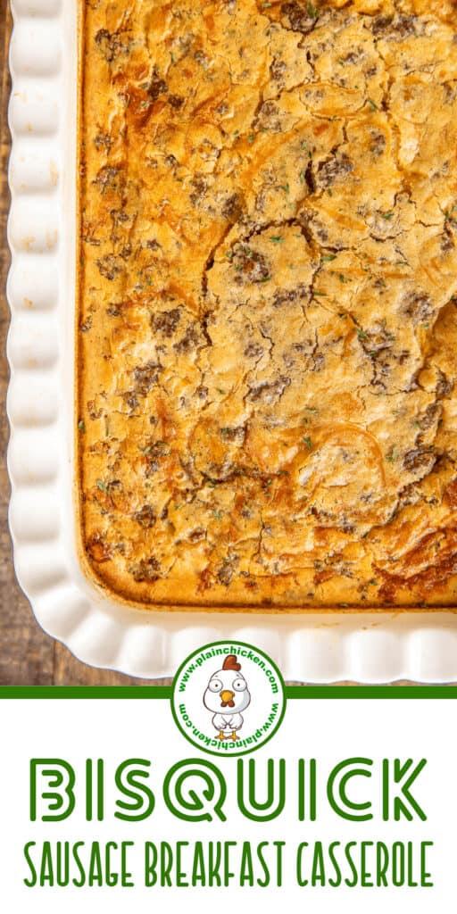 bisquick sausage breakfast casserole