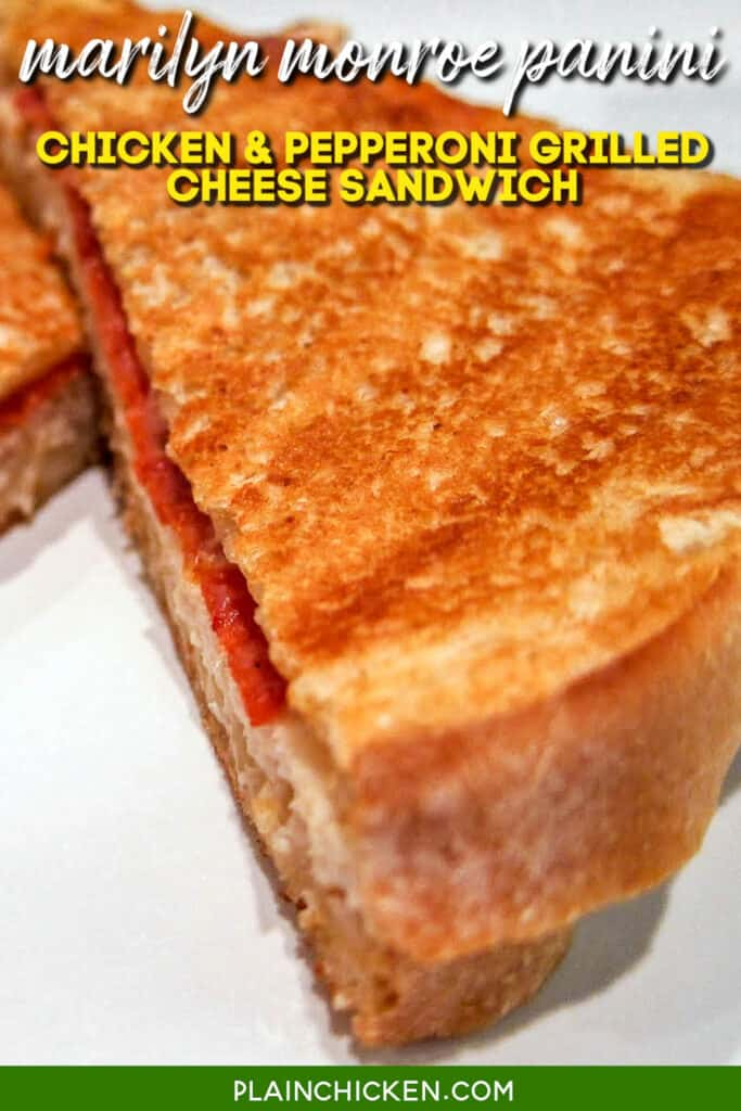 grilled cheese sandwich on a plate