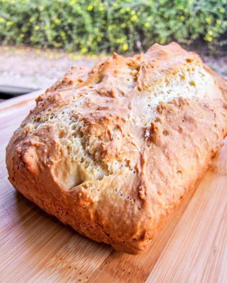 loaf of irish soda bread
