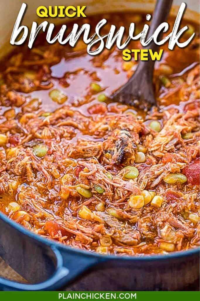 pot of brunswick stew