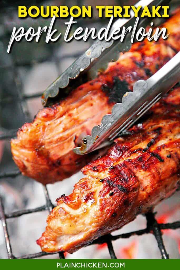 pork tenderloin on the grill