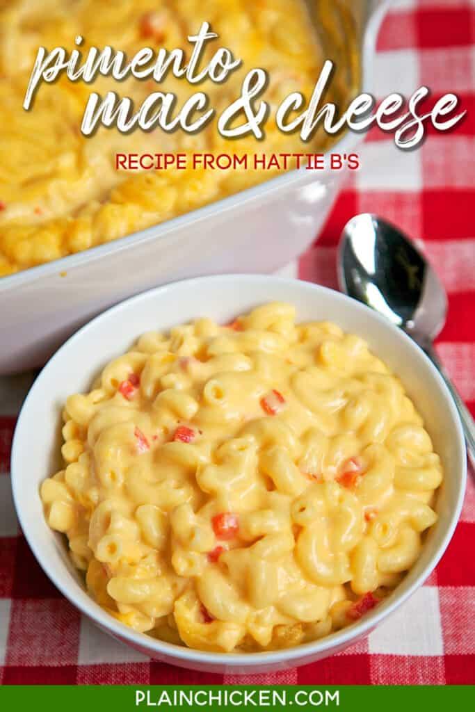 bowl of mac & cheese