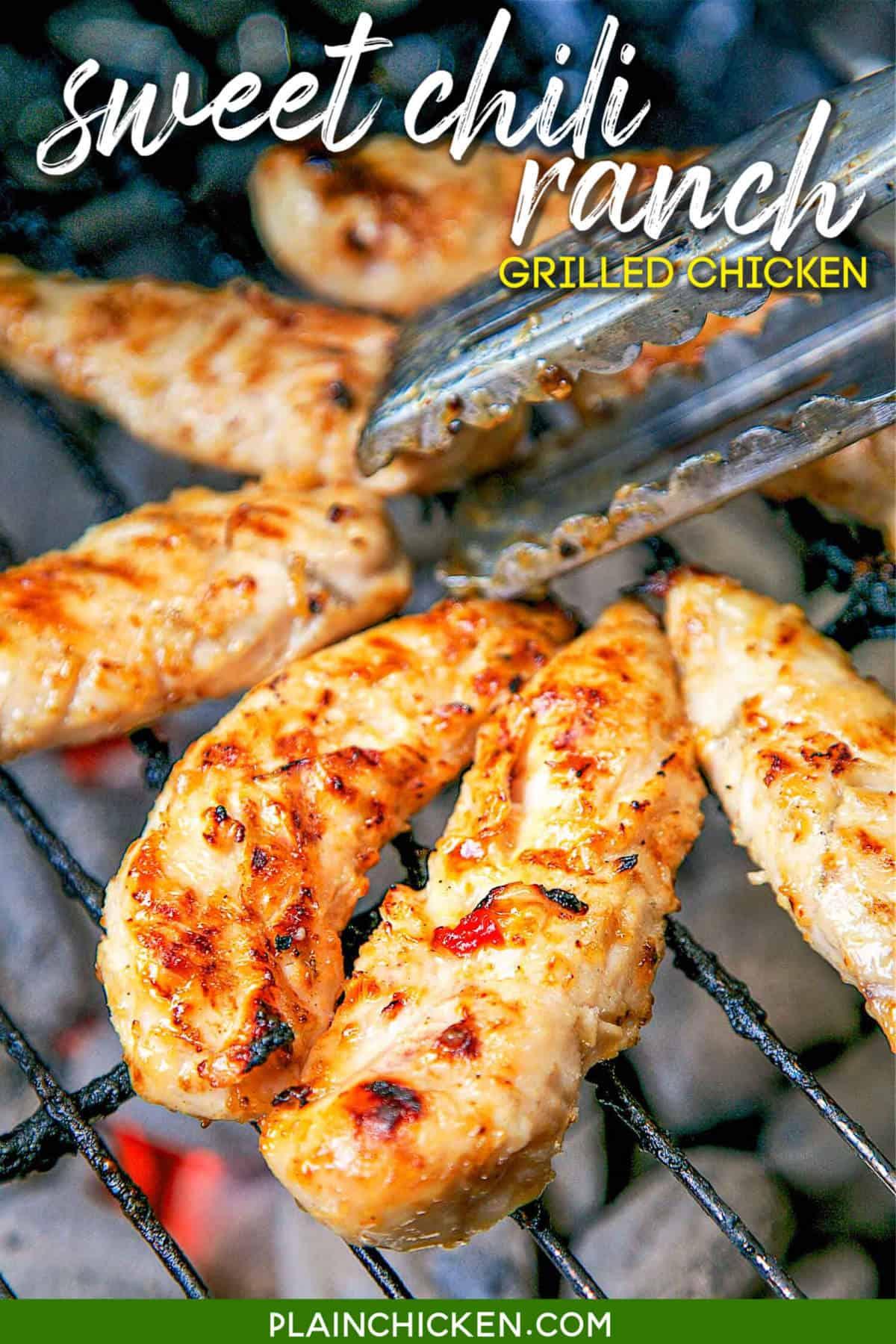 Sweet Chili Ranch Grilled Chicken Plain Chicken