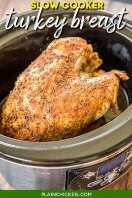 turkey breast in a crockpot