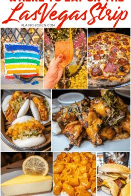 collage of las vegas food