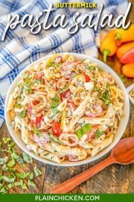bowl pasta salad
