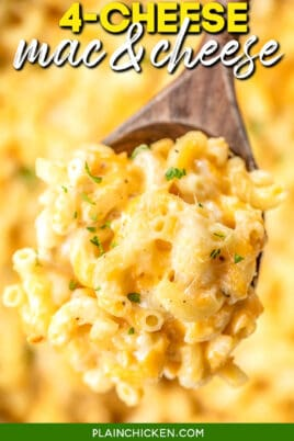 spoonful of mac & cheese