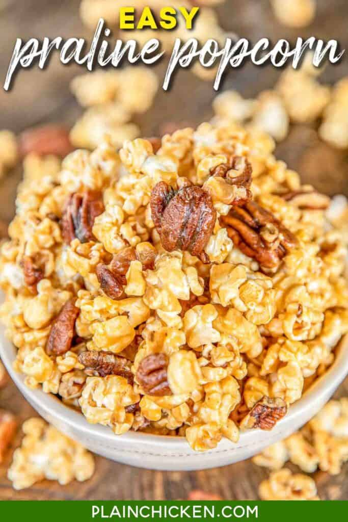 Praline Popcorn Plain Chicken