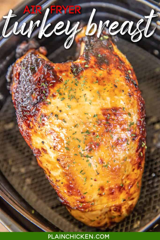 turkey breast in air fryer basket