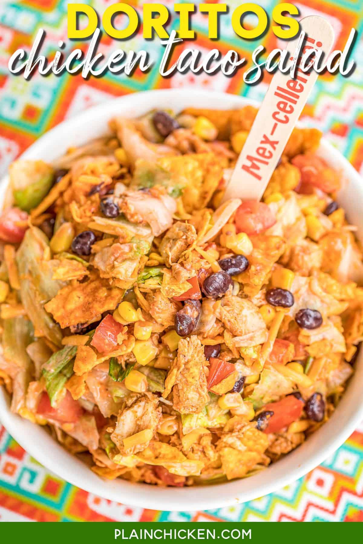 Taco Salad Recipe With Rotisserie Chicken