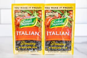 2 packets of good seasoning italian dressing mix