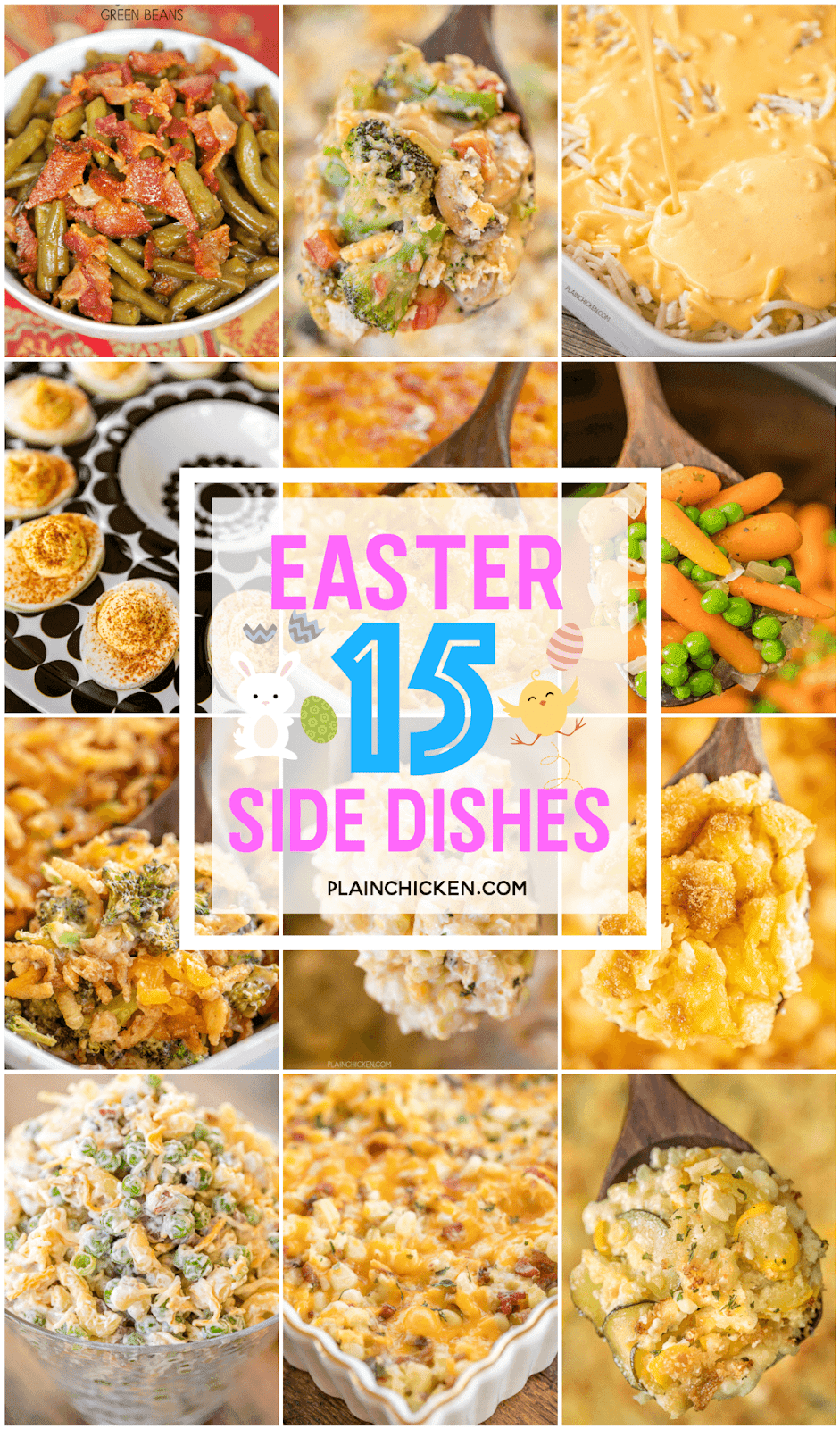 Top 15 Side Dishes For Easter Dinner Plain Chicken