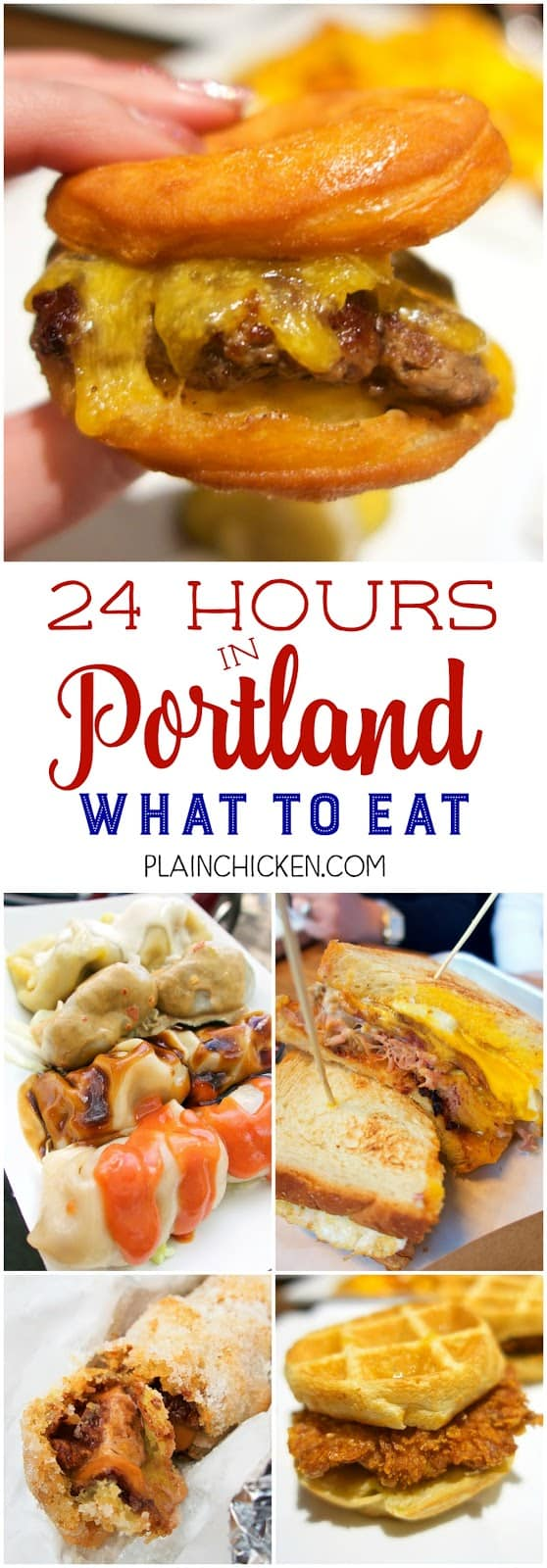 24 hours in Portland Oregon - what to eat! We didn't have a lot of time, but we packed in some AMAZING food! Life changing sandwiches, desserts and a fun time exploring the food cart parks!!