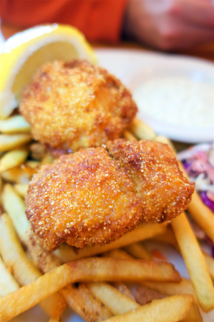 Fish and Chips from 5 Spot in Queen Anne Hill - Seattle, WA - eclectic diner with great food!