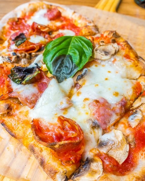 Rustica pizza at Eataly Chicago