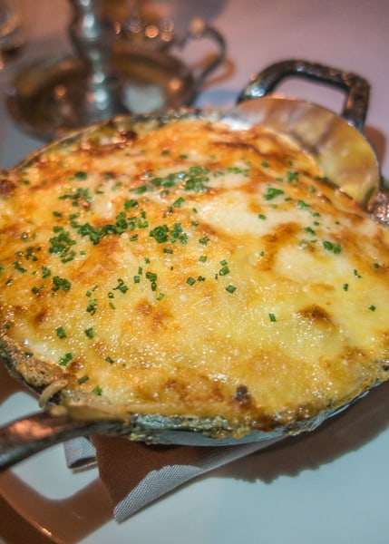 Au Gratin Potatoes at Maple & Ash in Chicago