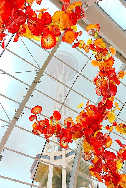 Chihuly Garden and Glass in Seattle, WA - A MUST on your trip!