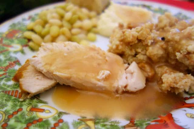 Brined Thanksgiving Turkey - O-M-G! Best turkey ever! This turkey was so tender, juicy and flavorful! I could not get enough of this turkey! I was shocked. The brining was so simple, It only takes a few minutes to make the brine.