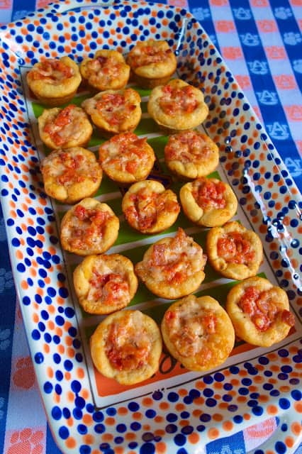 Tomato Bacon Cups - SOOO good!!! Great party appetizer!! Refrigerated biscuits stuffed with bacon, tomatoes, swiss cheese, mayonnaise and basil. Makes a ton. Great make ahead party food!!