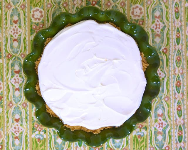 No-Bake Lemon Pie - only 4 ingredients! This is our favorite lemon pie!! SO easy and SOOOO delicious! Super quick to make. Refrigerate until set - about 4 hours. Great for potlucks and parties! Sweetened condensed milk, lemon juice, cool whip and graham cracker crust. Make this ASAP!
