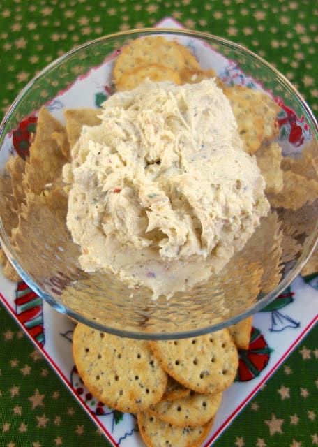 Italian Cream Cheese Spread - crazy good! Took this to a party and everyone asked for the recipe!! This is so simple and it tastes great. Serve with veggies or crackers. I always have the ingredients on hand to make this easy appetizer!!