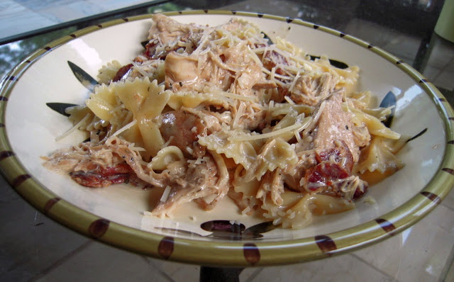 Smoky Chicken Pasta