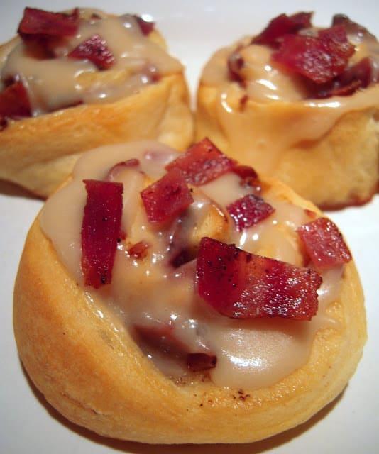 Maple-Bacon Rolls