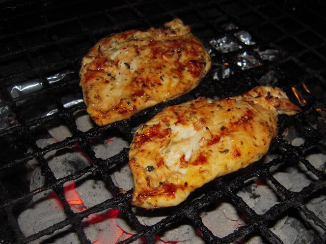 Honey Dijon Greek Chicken