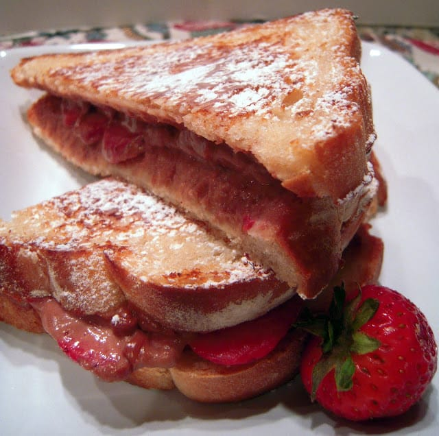 Nutella Grilled Cheese