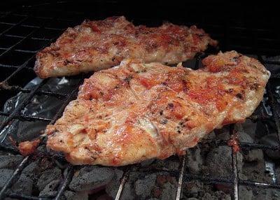 Grilled Salsa Chicken