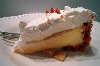Peanut Butter Banana Pudding Pie