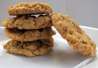 Cinnamon Oat Snickerdoodle Cookies