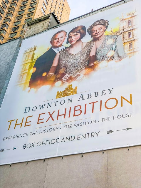 Downton Abbey Exhibit - New York City - see the sets and costumes from the series! Staff dining room, Carson's office, Dining Room, Bedroom Set and SO many BEAUTIFUL costumes. A must if you are in NYC! #downtonabbey