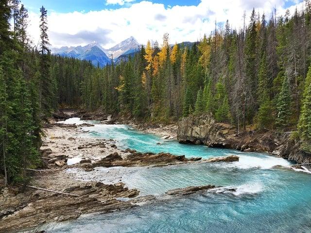 Natural Bridge - Yoho National Park - BC Canada