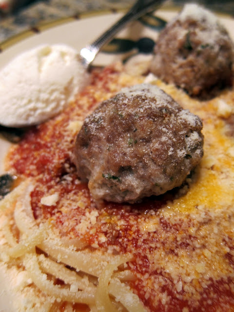 Homemade Beef Meatballs - recipe from The Meatball Shop in NYC