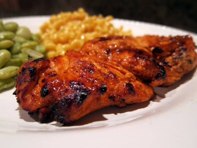 grilled chicken on a plate