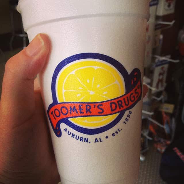 toomers corner lemonade auburn, al