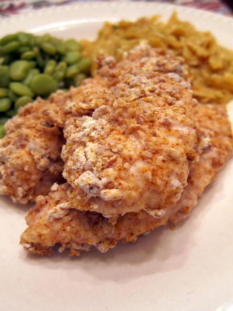 Crunchy Pecan Chicken Tenders