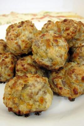 boursin sausage balls