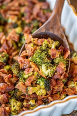 broccoli and bacon casserole