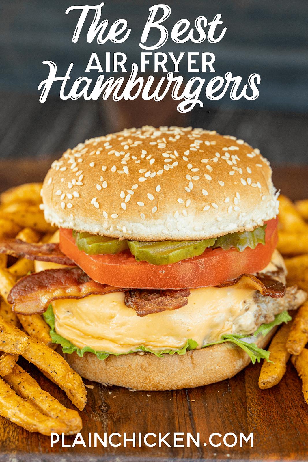 hamburger on a bun