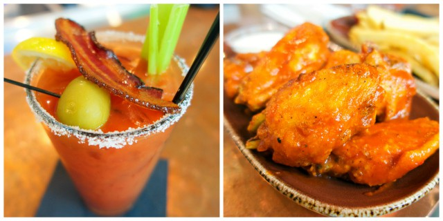Ford's Filling Station in LAX - fantastic Bloody Mary's and wings!