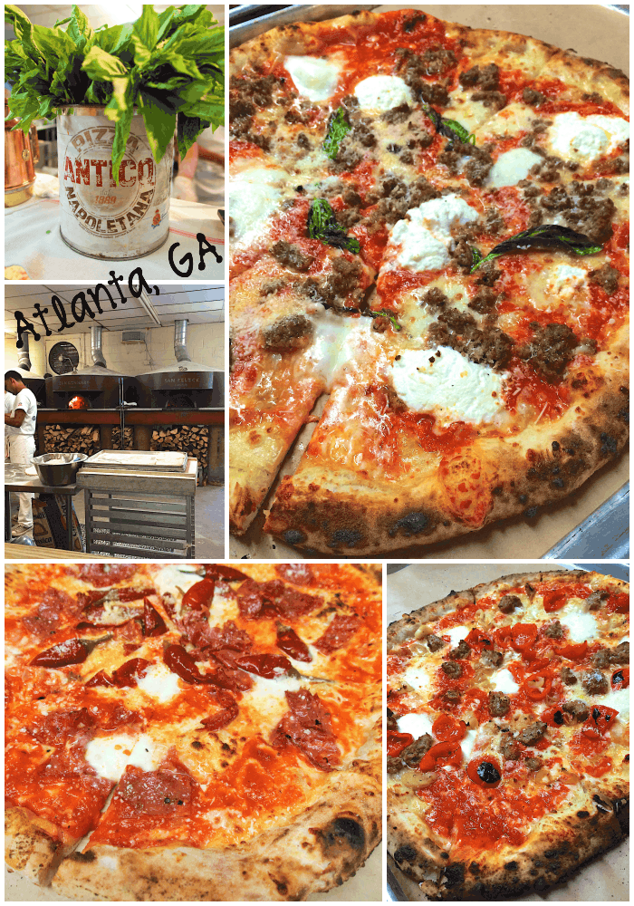 Antico Pizza {Atlanta, GA} - life changing pizza experience. Ovens straight from Italy make the best pizza I've ever eaten! You don't want to miss this place!
