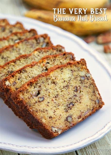 very best banana bread