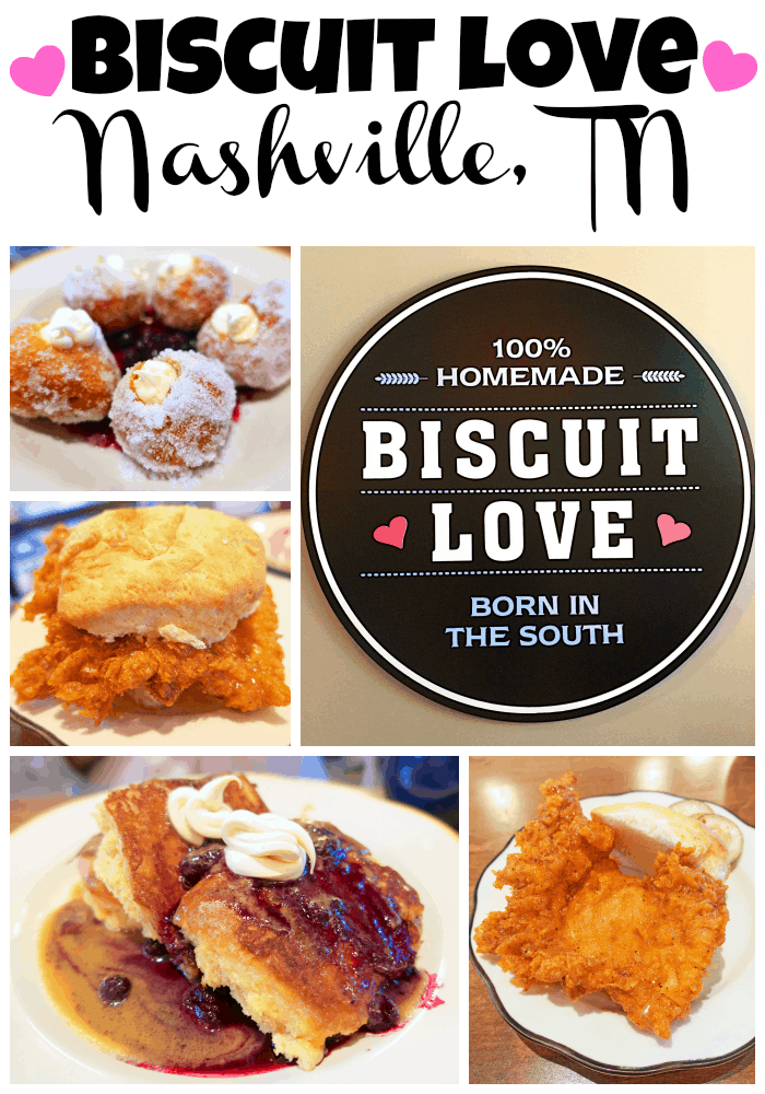 Biscuit Love - Nashville, TN - the best breakfast and lunch in town! You can't miss these biscuits!