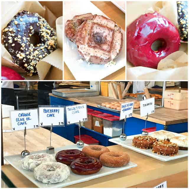 Blue Star Donuts in Portland, OR - worth the wait! Go early - they sell out fast! Once they are gone, they are gone.