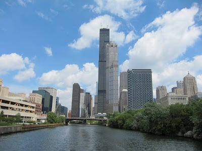 Sears Tower (we took a boat tour)