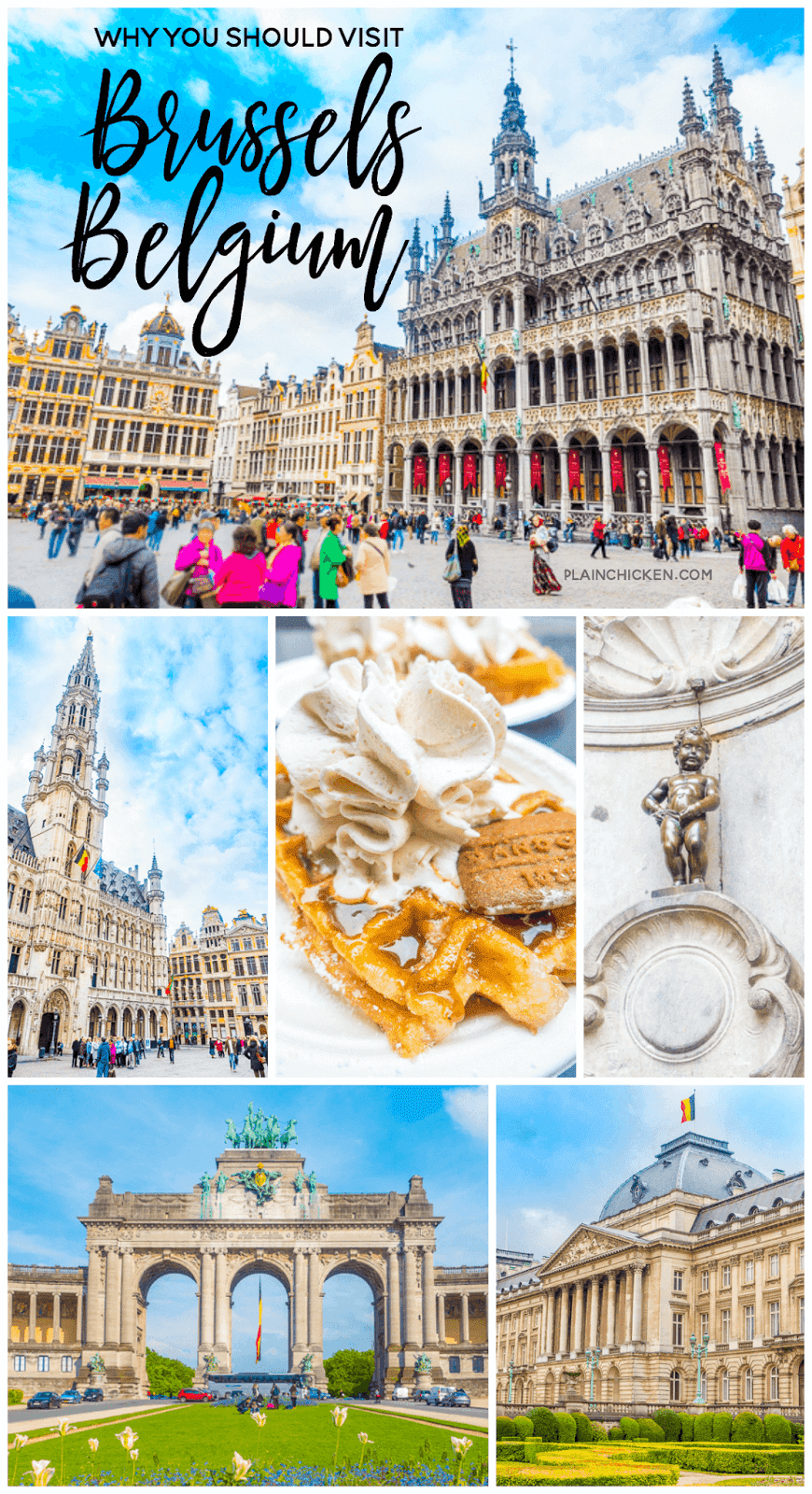Beautiful Brussels, Belgium - things to see and the BEST places to eat in Brussels. Waffles and 5 star restaurants galore!